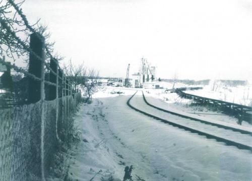 Porenbetonwerk Alt Garge ca. 1950