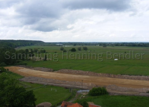 Luftaufnahme Walmsburg, Blickrichtung Viehle