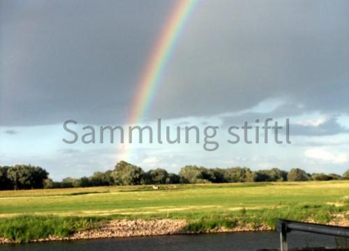 Regenbogen Bleckeder Hafen