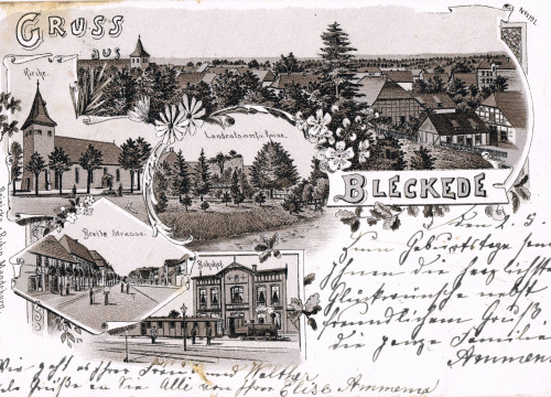 Bleckede 1900