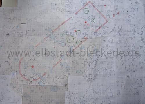 Ausgrabungen 2008 - Plan