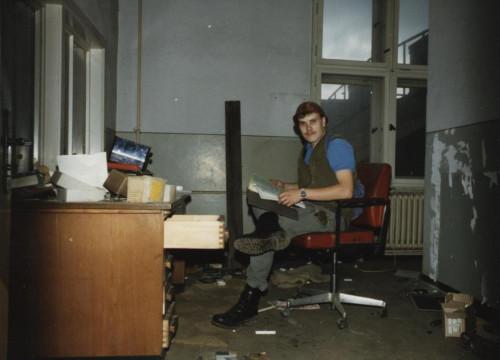 Kraftwerk Alt Garge 1987 - Innenansicht