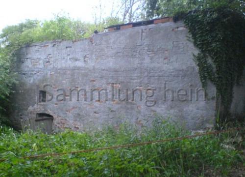 Fundament ehemaliger Speicher Wilhelm Burmester