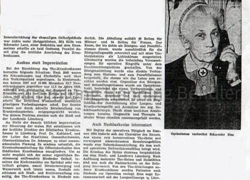 Krankenhaus 1958 Bericht III