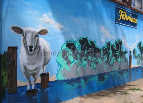 Fährhaus Graffiti