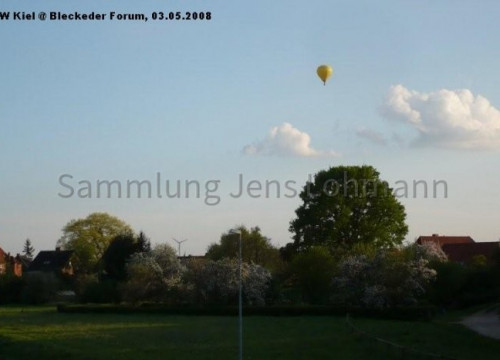 Ballon über Bleckede