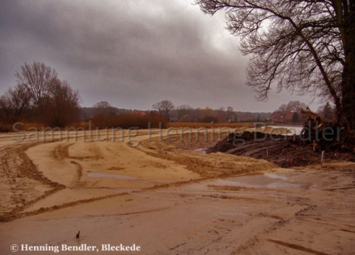 Deichbau Alt Wendischthun 2008