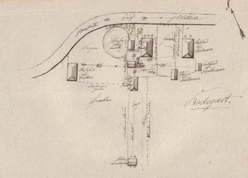 Plan Radegast 1856