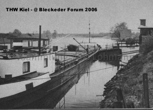 Hafen Bleckede 1960