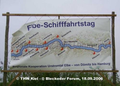 Plakat Elbe-Schiffahrtstag