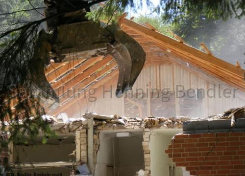 Abriß Krankenhaus 2008