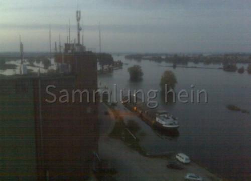 Luftaufnahme Hafen Bleckede 2010