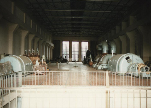 Kraftwerk Alt Garge - Innenansicht