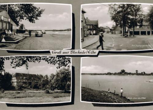 Fährhaus, Kückendenkmal, Schloß, Hafen 1960