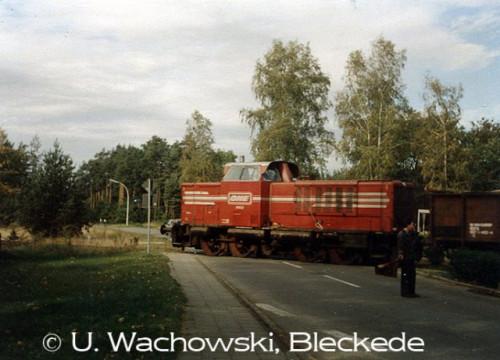 HEW Güterzug Alt Garge  Bahnhof