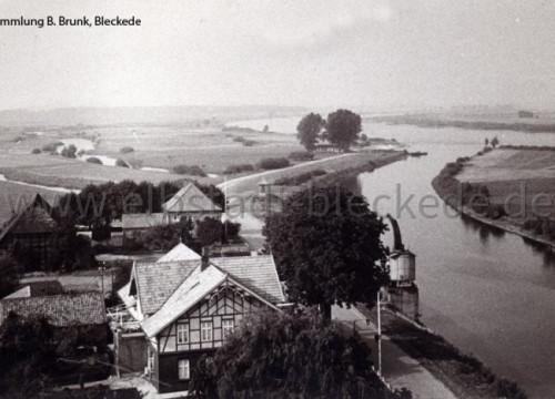 Hafen Bleckede - vom Silo