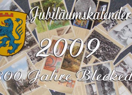 800-Jahr-Feier, Jubiläumskalender