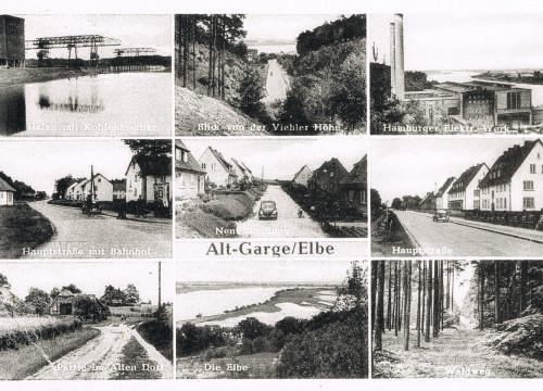 Ansichtskarte Alt Garge 1964