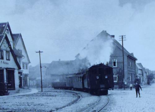Kleinbahn Marktplatz 1916