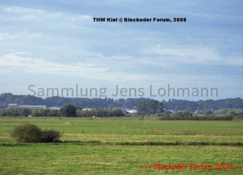 Deichvorland bei Brackede mit Blick auf Boizenburg/Elbe