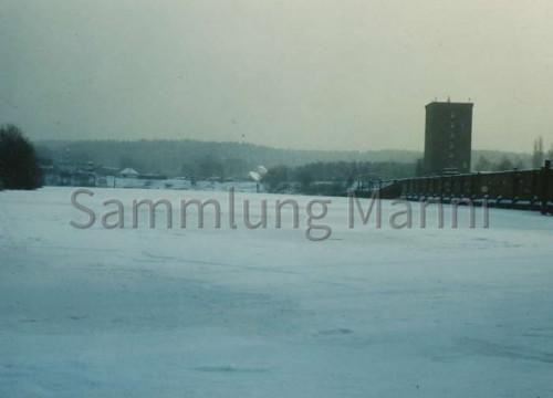 Hafen + Kohlenbrecherhaus im Winter