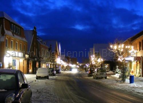 Breite Straße im Winter 2010