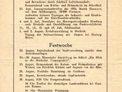 750 Jahre - Programm 1959