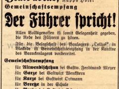 Bleckeder Zeitung - 26.09.1938