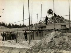 Waldbad - Bau Grundgerüst 1964