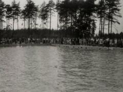 Waldbad 1964 - Sprungblöcke & Becken