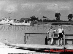 Räumboot 25 Vorbeifart an der Fähre 1939