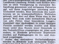 Bericht Krankenhaus 1968 - II