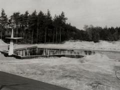 Waldbad - Bau Schwimmbecken II 1964