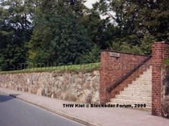 Sommerdeich mit Treppe 1988