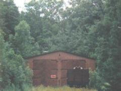 Kraftwerk Alt Garge - Lokschuppen