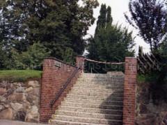 Treppe Sommerdeich zum Bürgerpark