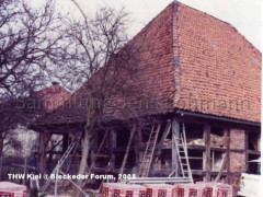 Die Zehntscheune 1983