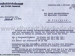 Landeskleinbahnamt 1923