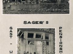Sagers Gasthaus 1958