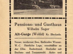 Gasthaus Sager Annonce