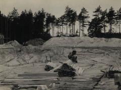 Waldbad - Bau Schwimmbecken 1964