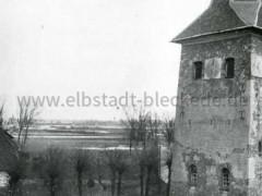 Blick vom Kirchturm zur Elbe, 1926