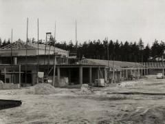 Waldbad - Bau Restaurant 1964