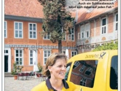 Deutsche Post - Werbung Schloß