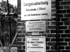 Krankenhaus, Lungenabteilung Toransicht