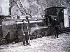Lok - Bau Kraftwerk Alt Garge 1940