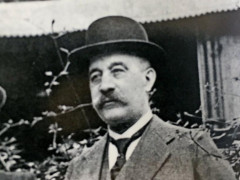 Wilhelm Kröpcke im Jahre 1919