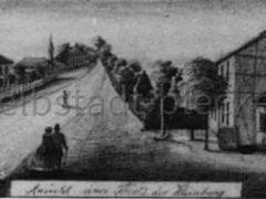 Federzeichnung von 1853 (Ausschnitt)