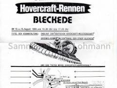 Hovercraft Rennen 1989