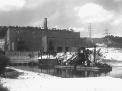 Kraftwerk Alt Garge 1945